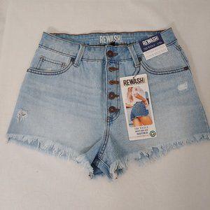 REWASH BRAND - Distressed Shorts - Size 3/26  NWT!